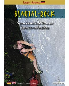 Gebro Kletterführer Blautal-Rock 2. Auflage 06/2020