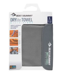 Sea to Summit Drylite Towel grau XL