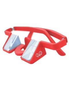Y&Y Sicherungsbrille Plasfun rot