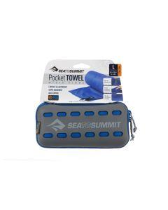 Sea to Summit Pocket Towel S blau