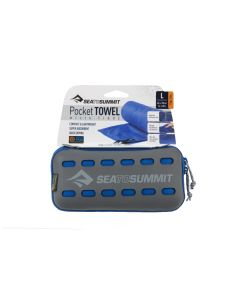 Sea to Summit Pocket Towel L blau