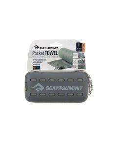 Sea to Summit Pocket Towel S Grau