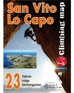 SAN VITO LO CAPO KLETTERKARTE Sizilien