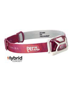Petzl Tikkina Hybrid Concept rot